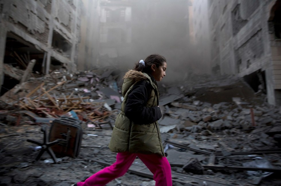 Destruction in Gaza  (Photo: AP)