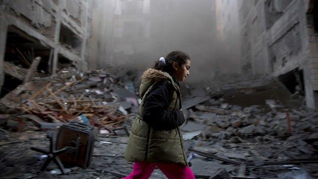Restos en Gaza (Foto: AP)