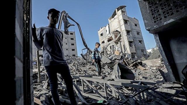 Restos en Gaza (Foto: EPA)