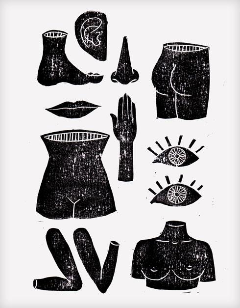 לצד התערוכה תושק מהדורה מוגבלת של פריטים כמו חולצות טי בגזרת יוניסקס, סווטשירטים ומוצרים משלימים שישלבו טכניקות הדפסת טקסטיל מסורתיות. ונדר x חביבה סליגסון (איור: חביבה סליגסון)