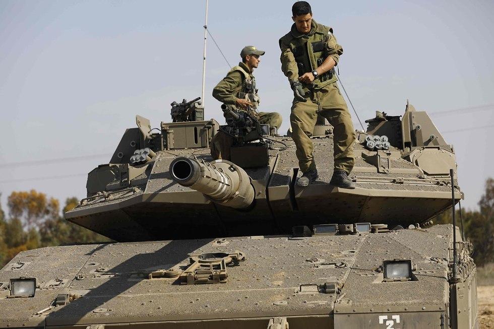 IDF forces on the Gaza border (Photo: AFP)