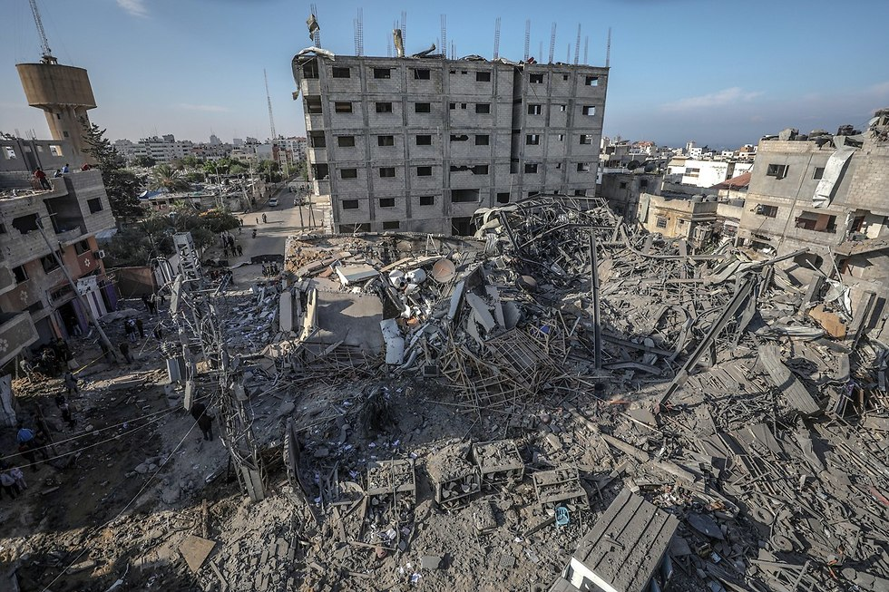 Destruction in Gaza after the 2014 war with Israel (Photo: EPA)
