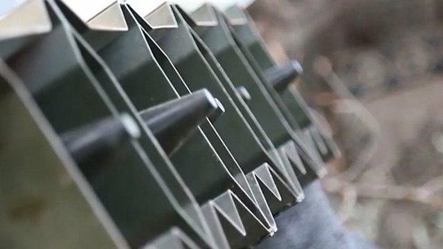 Ракеты готовы к запуску по Израилю (кадр из видеоролика ХАМАСа)