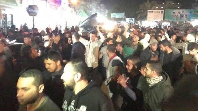 חגיגות של חמאס ב עזה  ()