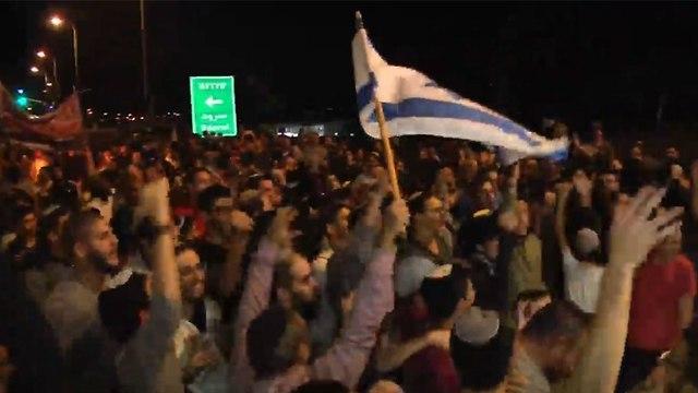 Протест в Сдероте. Фото: Рои Идан