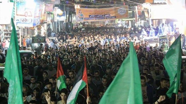 Hamas celebration in Gaza