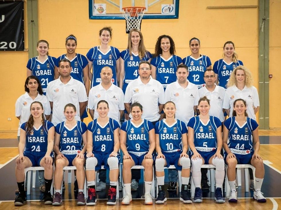 נבחרת הנשים (צילום: עודד קרני, איגוד הכדורסל)