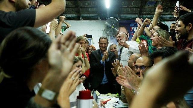 רז קינסטליך מועמד לראשות עיריית ראשון לציון בבחירות המקומיות (צילום:  עמית שעל)