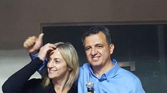 כרמל שאמה הכהן מנצח הבחירות המקומיות לראשות עיריית רמת גן ()