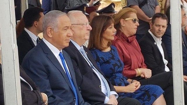 טקס אזכרה ממלכתי לדוד בן גוריון שדה בוקר (צילום: בראל אפרים)