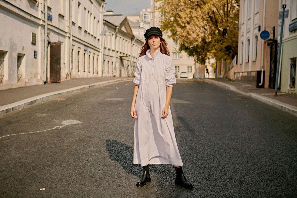 אלמביקה. השמלות לא מאכזבות גם בחורף (צילום: גורן ליובונצ'יץ')