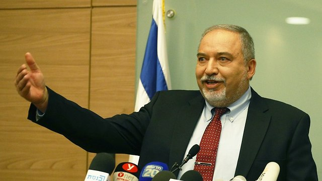 Avigdor Lieberman  (Photo: Ehud Zwigenberg)