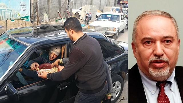 В тот день, когда Либерман подал в отставку с поста министра обороны, в Газе раздавали конфеты и устроили торжества. Фото: EPA