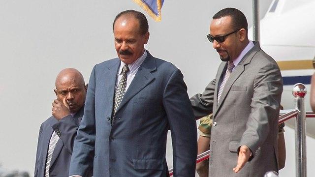 נשיא אתיופיה ואריתריאה  (צילום: AP)