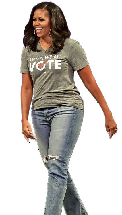 בקמפיין לעידוד ההצבעה בבחירות האמצע, ספטמבר 2018