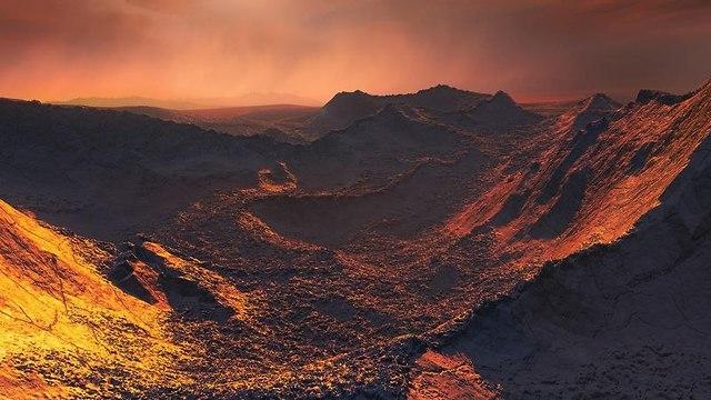 הדמיה של כוכב הלכת (הדמיה: מתוך המחקר)