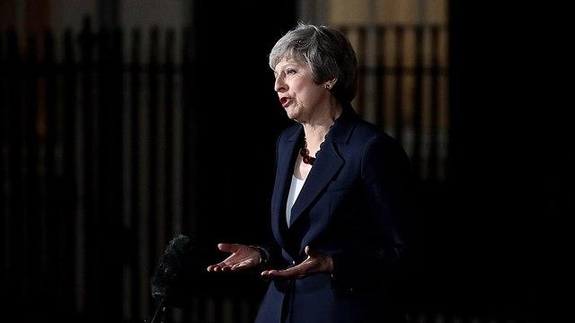 ראש ממשלת בריטניה תרזה מיי  (צילום: gettyimages)