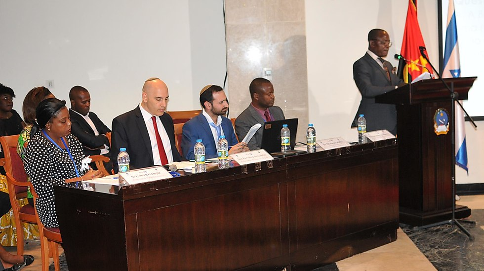 The competition Judges. (Photo: The Israeli Embassy in Angola)