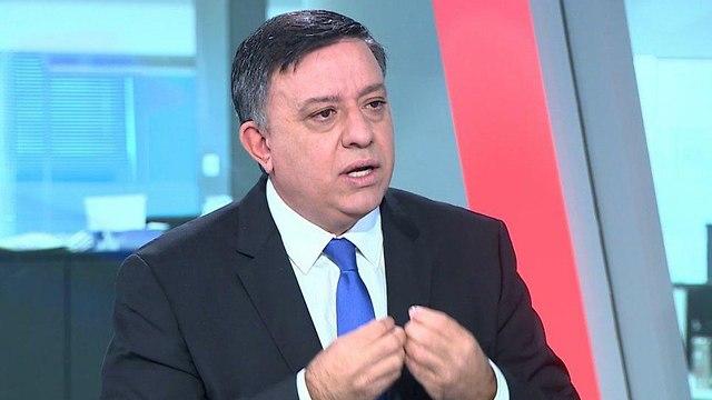 אבי גבאי יושב ראש מפלגת העבודה אולפן ynet (צילום: אורי דוידוביץ)