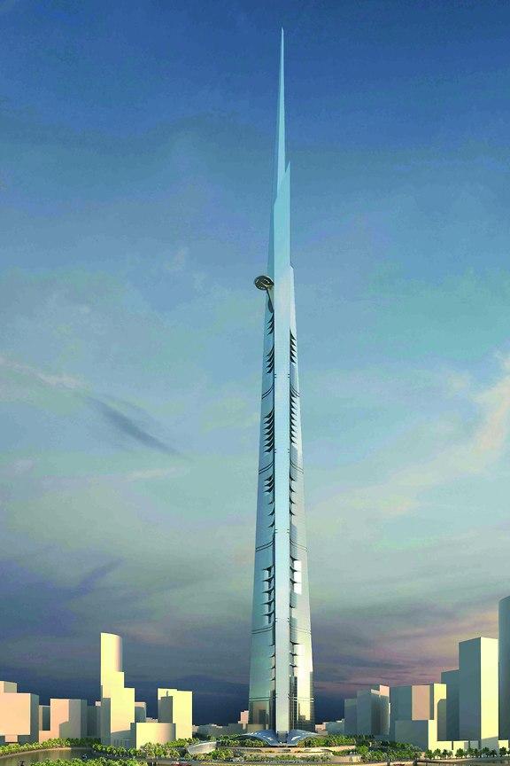 שיא של כל הזמנים: הדמיה של מגדל ג'דה, ערב הסעודית (באדיבות KONE)
