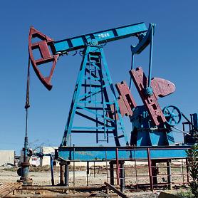 משאבת נפט מדרום לבאקו