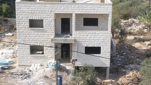 The rebuilt house of Ahmed Nassar Jarrar