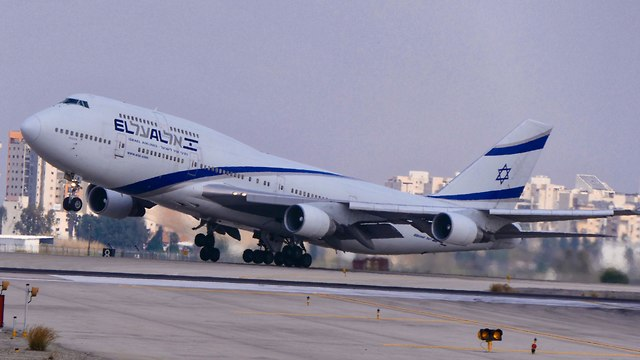 El Al plane (Photo:Danny Sadeh)