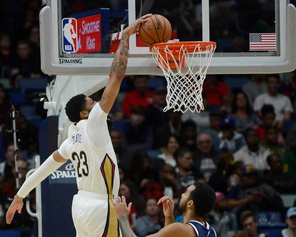 אנתוני דייויס ניו אורלינס (צילום: AP)