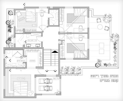תוכנית קומות המגורים (תוכנית: נטלי רשף)