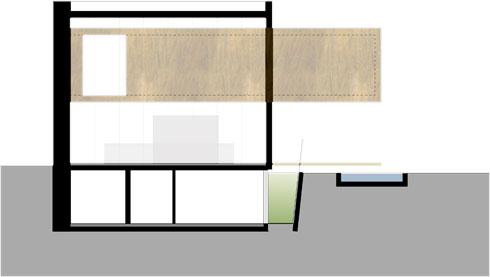 חתך הבית (תוכנית: אנדרמן אדריכלים)