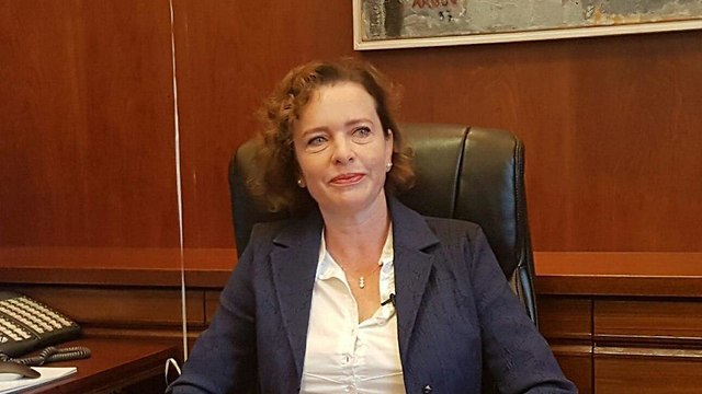 Haifa Mayor Einat Kalisch Rotem  (Photo: Gil Nehushtan)