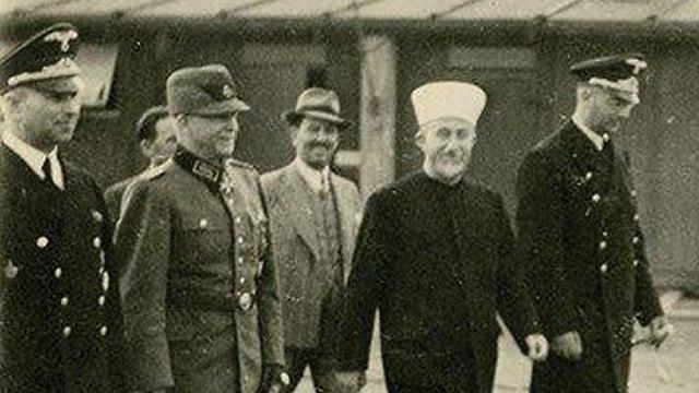 Grand Mufti of Jerusalem Haj Muhammad Amin al-Husseini during his visit to Germany  (Photo: HERMANN HISTORICA)