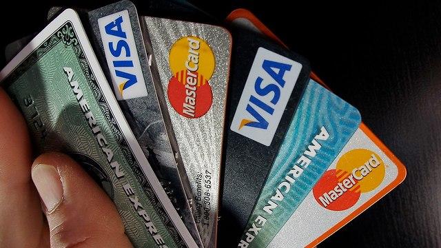 כרטיסי אשראי (צילום: AP)