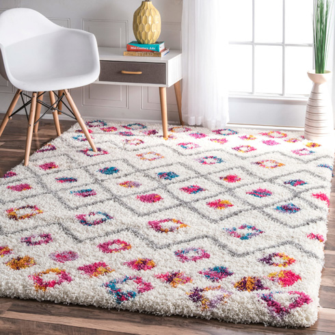 שטיח מפנק לחדר ילדים או משחקים, כ-1,300 שקל אחרי הנחה, כולל משלוח (צילום: מתוך overstock.com)