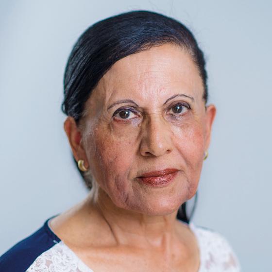 Riki Avivi Hindi, who lost her sister Su'ud