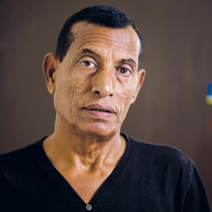 Rami Hukayma, who lost his brother sister Na'ama