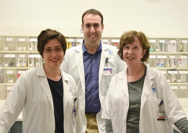 """Группа исследователей, открывших новое свойство гормона. Фото: пресс-служба """"Ихилов"""""""