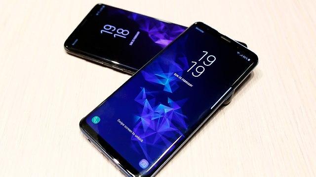 גלקסי S9 וגלקסי S9+ (צילום: AP)