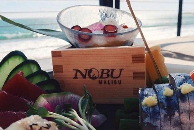 נו פילטר! מסעדת Nobu (צילום: אינסטגרם)