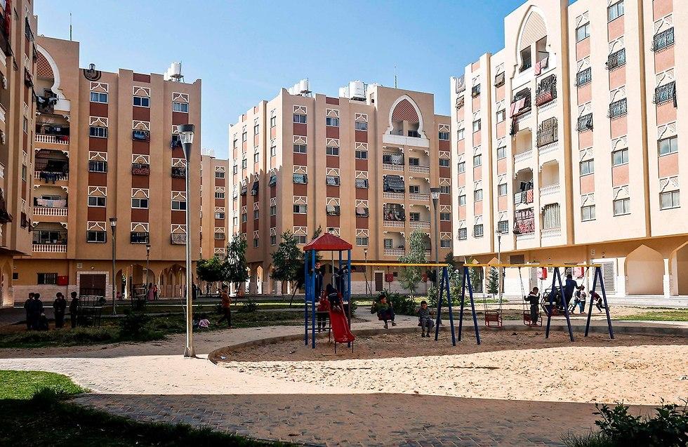 A Qatari-funded neighborhood in Khan Yunis, the Gaza Strip (file photo) (Photo: AFP)
