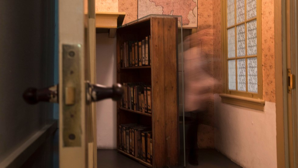 The renovated Anne Frank House (Photo: AP)