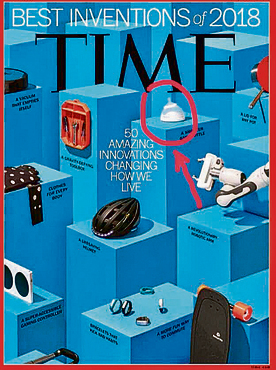 """הבקבוק על שער מגזין """"טיים"""", השבוע"""