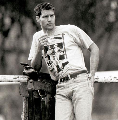 """ירון פינק מדגמן בצעירותו. """"היו לי חיים מדהימים"""" (צילום: גדי דגון)"""