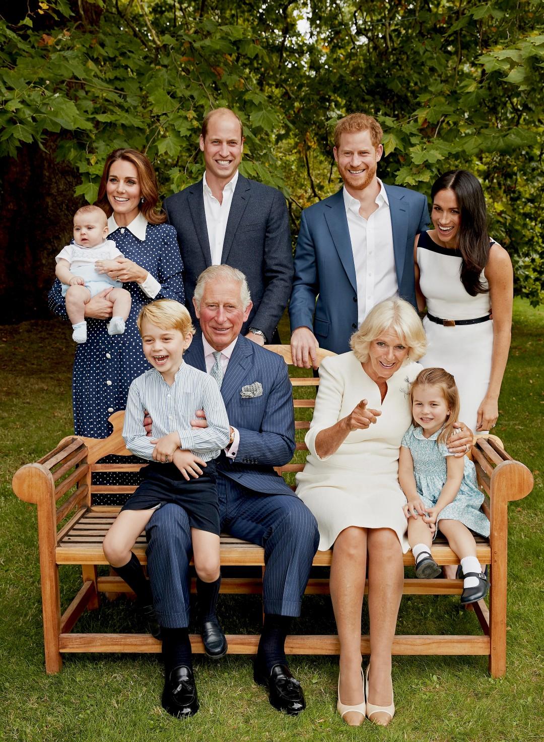משפחת המלוכה הבריטית  (צילום: GETTY)