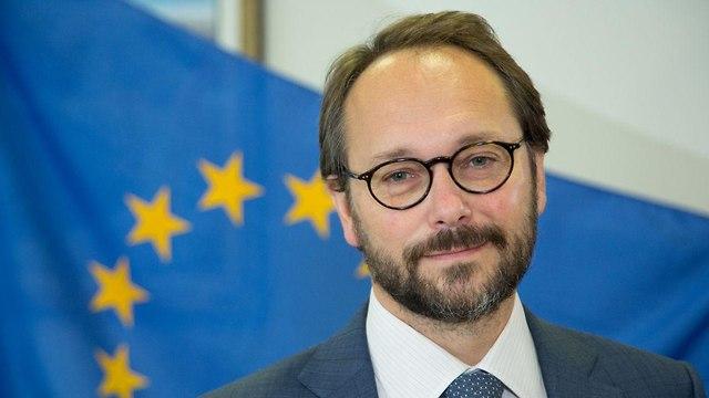 עמנואל ז'ופרה, שגריר האיחודי האירופי בישראל (צילום: אריאל זנדברג )