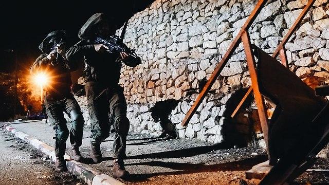 Commando Brigade in training (Photo: IDF Spokesman's Office)