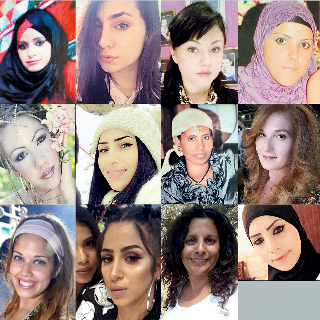 Women Murdered During the Last Year