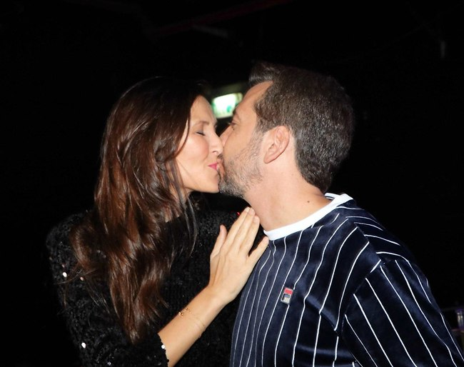 סיבה לנשיקה. לרר ואשתו הדס (צילום: אמיר מאירי)