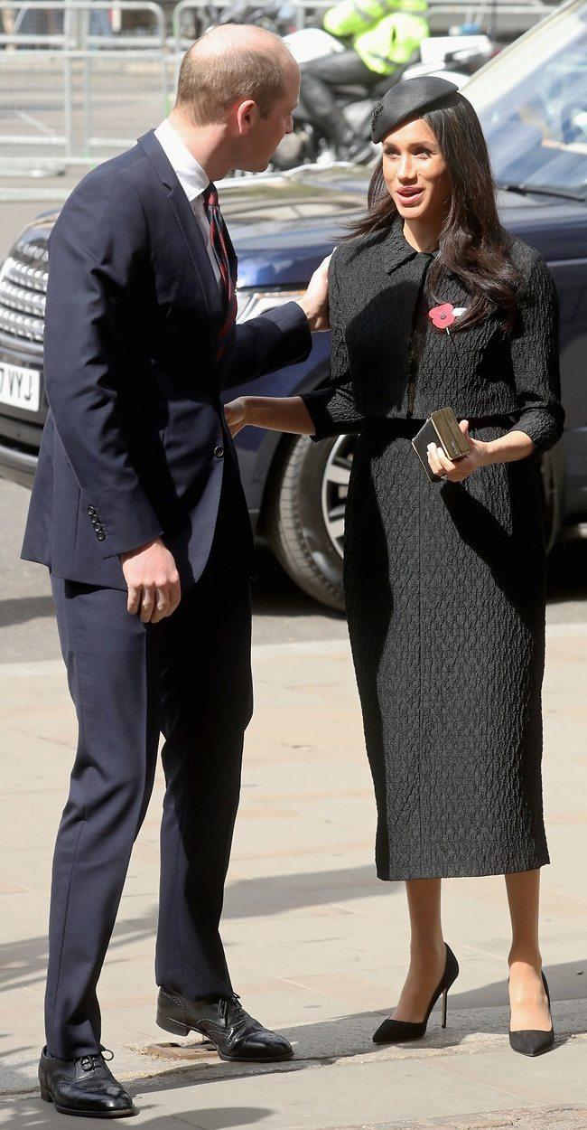 אולי הריחוק יעשה טוב. הנסיך וויליאם ומייגן מרקל (צילום: Gettyimages)