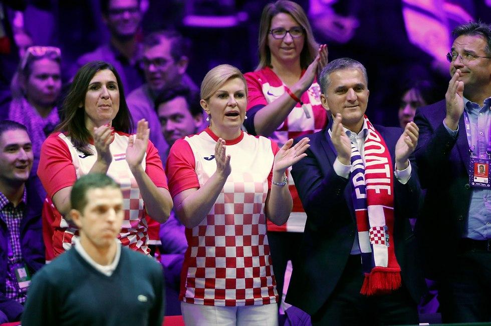 קרואטיה גביע דייויס (צילום: EPA)